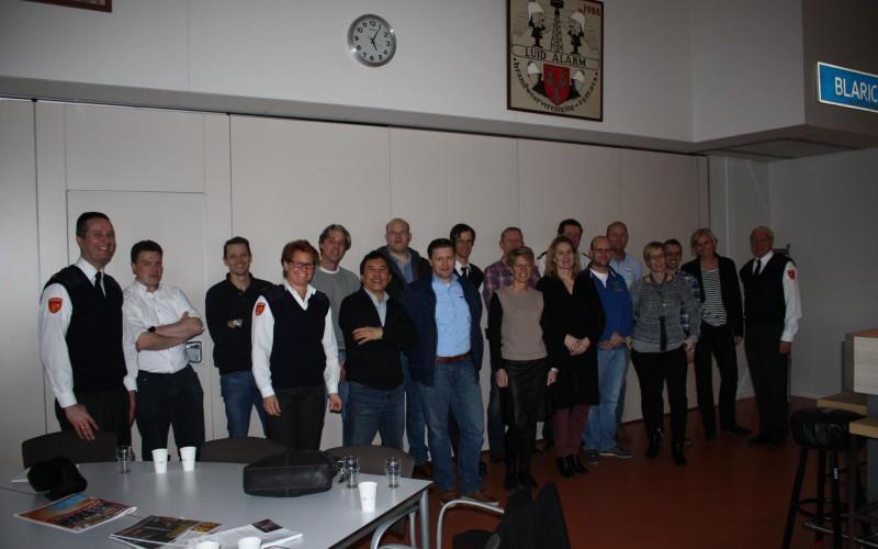 Flevoland en Utrecht bedanken team