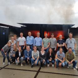 Team Magenta vol vuur de zomer in